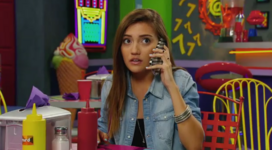 Andi on the phone
