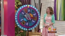 Sophie spinning the wheel