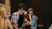 Andi hugging Hex