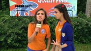 Gigi interviewing Andi