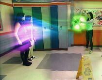 Entering the magic orb