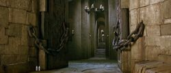 Entrance Hall at King Jareth's Castle