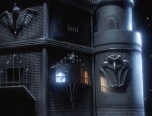 Lord Zedd's Moon Castle