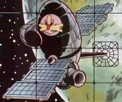 Dr. Robotnik's Egg Satellite