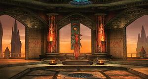 Lord Shinnok's Throne Room