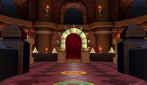 The Chaos Castle's Koopa Throne