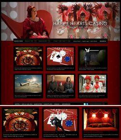 The Happy Hearts Casino Website