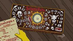Satan's Path Board Game