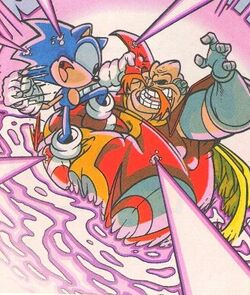 Sonic the Hedgehog vs. Dr. Ivo Robotnik
