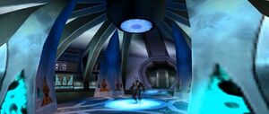 The Angel Tower's Transporter Room