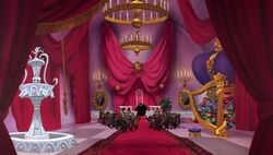Inside Ratigan's Lair