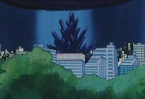 Huge Evil Black Crystal