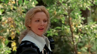 Justine de Winter (played by Kim Cattrall) The Return of the Musketeers 213