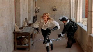 Justine de Winter (played by Kim Cattrall) The Return of the Musketeers 2169