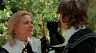 Justine de Winter (played by Kim Cattrall) The Return of the Musketeers 351