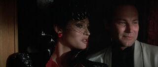 Fatima Blush (played by Barbara Carrera) Never Say Never Again 67-0