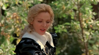 Justine de Winter (played by Kim Cattrall) The Return of the Musketeers 106