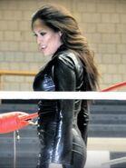 Evil Melina @ Northeast Wrestling
