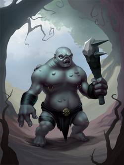 Ds creature troll preview