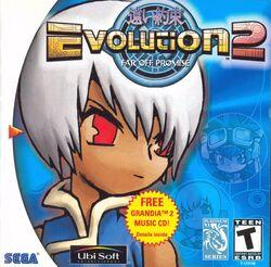 Evolution 2 North American cover