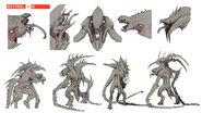 Evolve-Kraken Concept Art 001