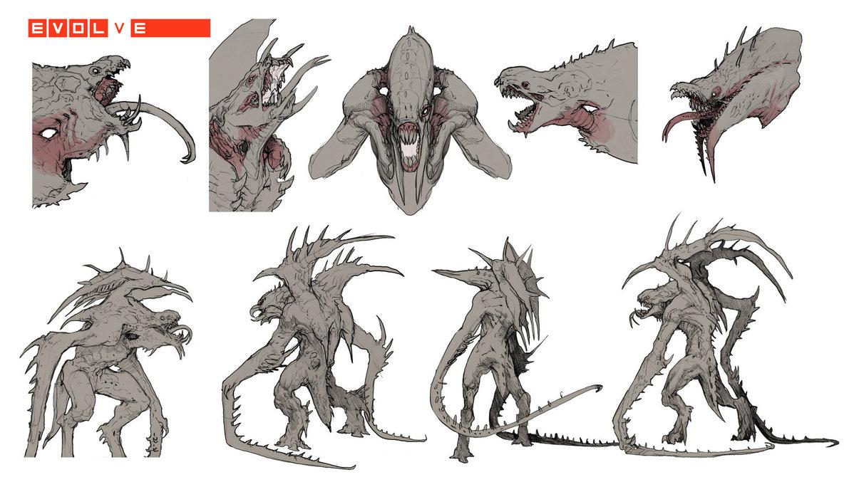 Image - Evolve-Kraken Concept - 168.6KB