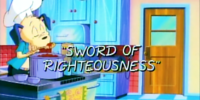Sword of Righteousness (episode)