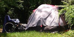 Yeti tent wheelchair