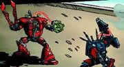 Grand Titan versus Thunder Fury