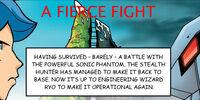 Comic 4: Una lucha feroz