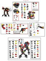 Jungle Thrasher parts list