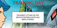 Comic 6: Día de entrenamiento