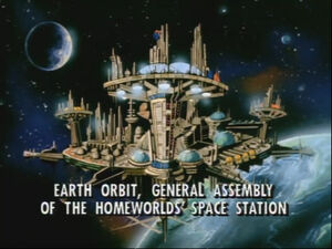 General Assembly of the Homeworld's Space Station