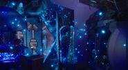 Swarming protomolecule in Eros gaming room
