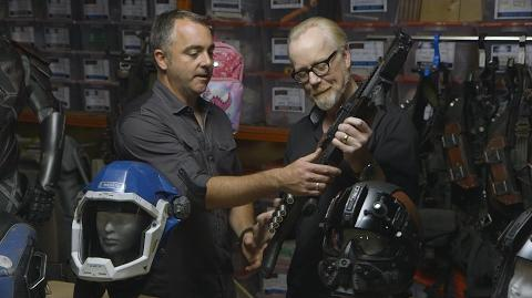 Adam Savage Examines the Props and Spacesuits of The Expanse!