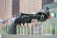 Non-violence-gun