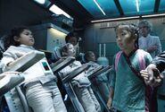 Children injected with protomolecule as Mei walks by
