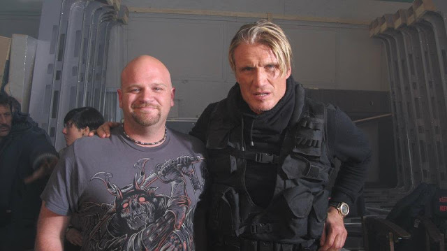 File:Dolph with crewmember.jpg
