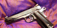 Modified Kimber Gold Combat II