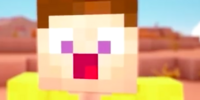 Player (if famous people played minecraft)