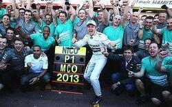 2013 Monaco Grand Prix Win