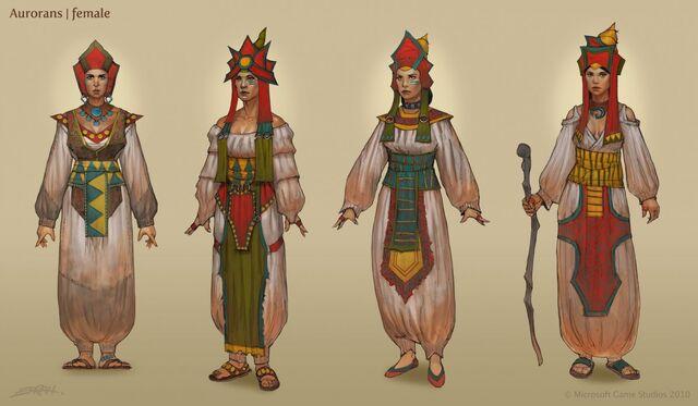 File:Fable 3 Female Auroran concept.jpg