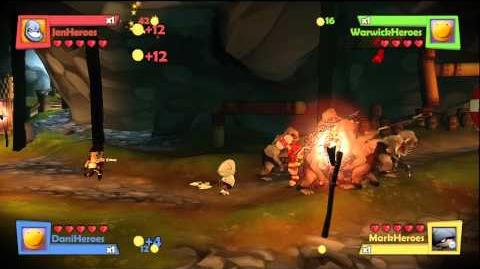 Fable Heroes gameplay clips