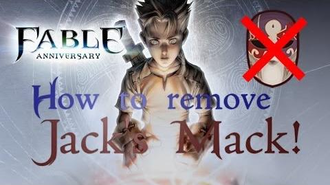 Fable Anniversary - How to take Jack of Blades's Mask Off!