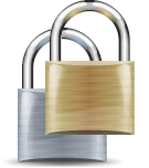 File:Padlock Grey and Bronze.png