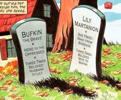 I124 Bufkin and Lily's Graves