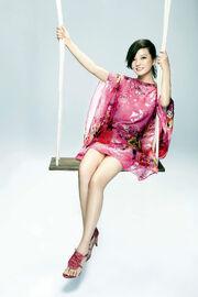 Zhao Wei Flower Dress