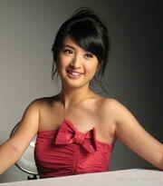Ariel Lin Red Fashion