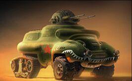 Ra3 soviet bullfrog copy