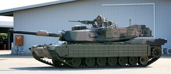 M1A1 AIM-SA Reactive Armor